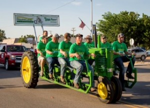 Group Pedal Tractor
